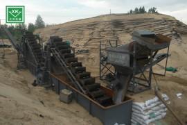 高产量洗沙生产线